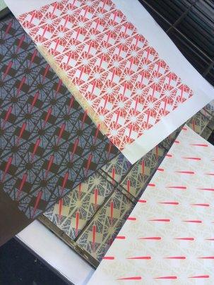Wallpaper repeating pattern samples