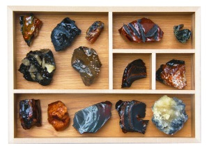 Rock samples made from sugar